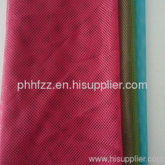 Polyester 2-2 FDY mesh fabric/ Sportswear lining fabric