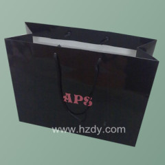 printed logo paper bag