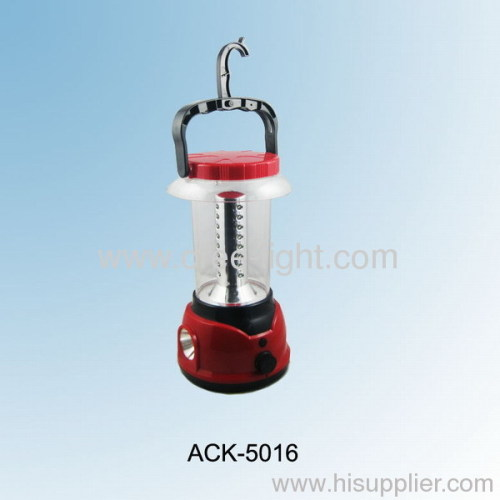 32 LED +1W LED Adjustable Lightness Camping Lantern