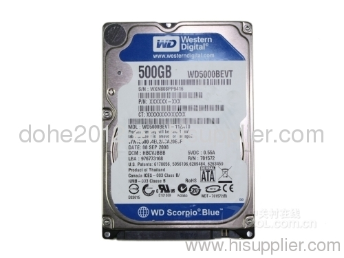 WD5000BEVT HDD