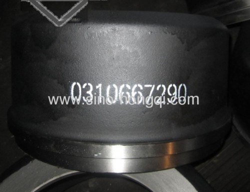 Brake drum 0310667290 for BENZ