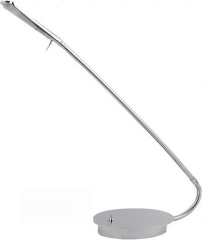 chrome LED table lamp