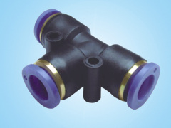 PE T-Type Tee/Pneumatic Components
