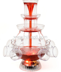3 tiers Party cocktail wine fountain