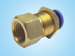 PMF Inner Thread Partition Straight/PU Connector