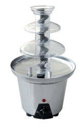 stainless steel chocolate fountain for home use