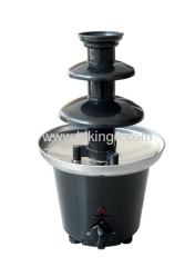 90W 3-tiers home chocolate fondue fountain