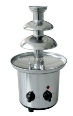 170W electrics stainless steel chocolate fountain
