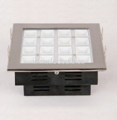 16X1W COB led office grille light