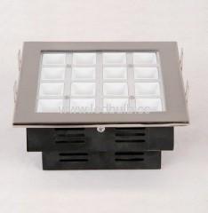 16W COB led office grille light