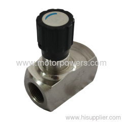 Needle valve for control the flow