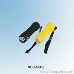 9LED Plastic Flashlight ACK-9002