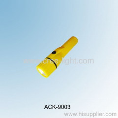 2.4V 0.75A Krypton Bulb Plastic Flashlight ACK-9003
