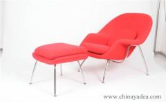 Eero Saarinen Womb Chair and Ottoman