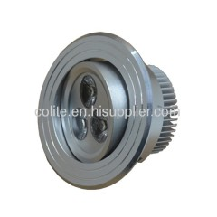 Top quality LED Downlight / Ceiling light with 3 x 1 watt superbright LEDs.