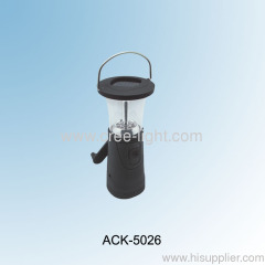 6LED Portable Lamp Soalr Hand Cranking Camping Lantern