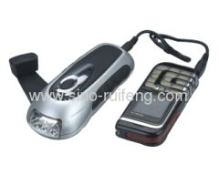 Mobile Phone Emergency Charger with led flashlifht