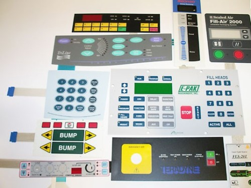 Different Types of Membrane Switches