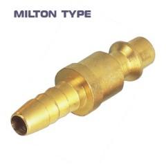 USA type hose barb quick coupling plug