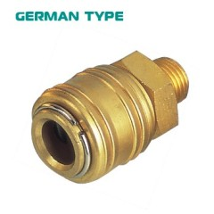 Germany Type Brass Male Quick Coupling