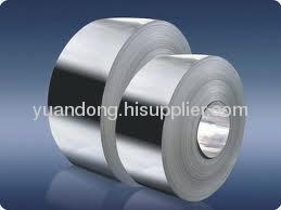 galvanized hot dipped steel strip for packing