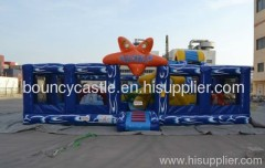 Inflatable slide combo,inflatable amusement park