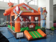 inflatable animal ranch toddler inflatable bounce house