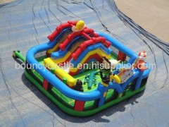 inflatable animal zoon outdoor games for kids