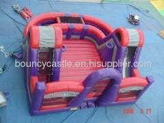 backyard inflatable fun house kid gym