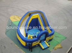 back yard inflatable slide combo 2012 newest inflatale combo