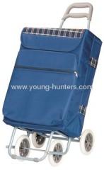 4 wheels fold up trolley bag