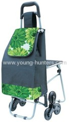 3 Wheels Shopping Trolley With Seat