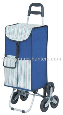 removable folding shopping cart with 3 wheels