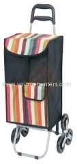 3 wheels fold away trolley cart for outdoor