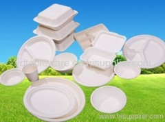 biodegradable bagasee tableware