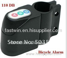 Bike Security Alarm 110dB Audible Sound Lock