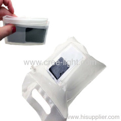 2012 New Design Solar Lantern Bag Solar Energy Bag with 0.5W Solar Panel 100-120LM Brightness ACK-8326