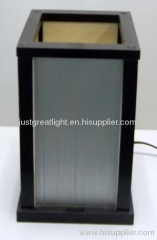 Patent new style square wood table lamp for house and hotel TL039