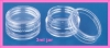 3g plastic empty clear jar nail art tool cosmetics container