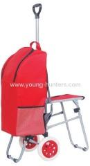 lightless folding luggage cart for climb stair
