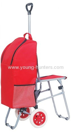 lightless folding luggage cart for climb stair