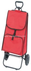 600D POLYESTER red storage cart with pocket
