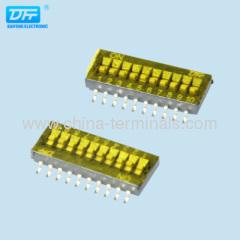 verticaal en rechte hoek DIP-schakelaar - elektronica fabrikanten | Consumentenelektronica