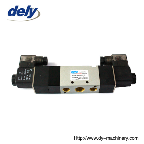 24 DC doulbe electric Control solenoid valve china