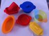 LFGB&FDA approval Round shaple foldable steamers