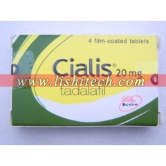 Cialis 20mg wholesale 4 tablets/box, 30 tablets/bottle