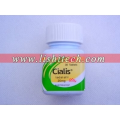Cialis 20mg 30 tablets/bottle
