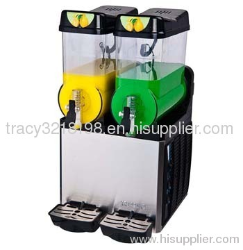 high quality slush machine xrj-2x12l