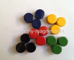 Colourful Ceramic magnetic disc