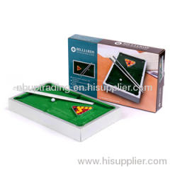 MINI ALUMINIUM POOL TABLE